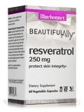 Beautiful Ally™ Resveratrol 250 mg - 60 Vegetable Capsules