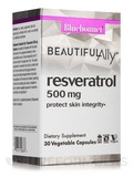 Beautiful Ally™ Resveratrol 500 mg - 30 Vegetable Capsules