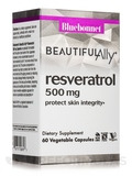 Beautiful Ally™ Resveratrol 500 mg - 60 Vegetable Capsules