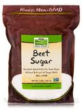 NOW Real Food® - Beet Sugar - 3 lbs (1361 Grams)