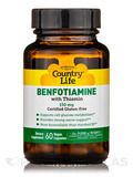 Benfotiamine with Thiamin 150 mg - 60 Vegan Capsules