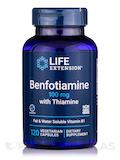 Benfotiamine with Thiamine 100 mg - 120 Vegetarian Capsules