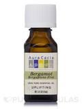 Bergamot Bergaptene-Free Essential Oil (Citrus bergamia) 0.5 fl. oz (15 ml)