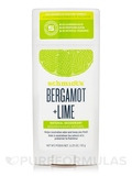 Bergamot + Lime Natural Deodorant Stick - 3.25 oz (92 Grams)