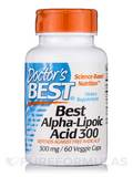 Best Alpha-Lipoic Acid 300 mg 60 Veggie Capsules