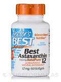 Best Astaxanthin featuring AstaPure® 12 mg - 60 Softgels