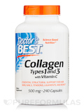 Best Collagen Types 1 & 3 - 500 mg 240 Capsules