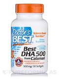 Best DHA from Calamari 500 mg 30 Softgel