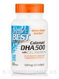 Best DHA from Calamari 500 mg 60 Softgel Capsules