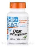 Best D-Phenylalanine 500 mg 60 Veggie Caps