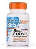 Best Lutein featuring Lutemax® (Lutein & Zeaxanthin) 20 mg - 60 Softgels