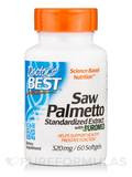 Best Saw Palmetto Standardized Extract 320 mg 60 Softgels