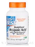 Best Stabilized R-Lipoic Acid 100 mg - 180 Veggie Capsules