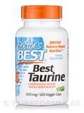 Best Taurine 500 mg 120 Veggie Capsules