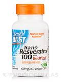 Best trans-Resveratrol with ResVinol-25 100 mg 60 Veggie Caps