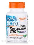 Best trans-Resveratrol with ResVinol-25 200 mg 60 Veggie Caps