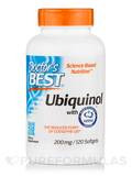Best Ubiquinol with Kaneka's QH 200 mg 120 Softgels