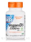 Vegan D3 2500 IU with Vitashine D3 - 60 Veggie Capsules