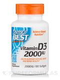 Best Vitamin D3 2000 IU 180 Softgels