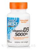 Best Vitamin D3 5000 IU - 180 Softgels