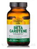 Beta Carotene - 100 Softgels
