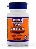 Beta Carotene 25000 IU 100 Softgels
