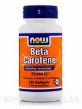 Beta Carotene 25000 IU 250 Softgels