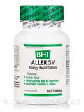 BHI Allergy Relief Tablets - 100 Tablets