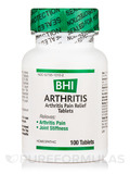 BHI Arthritis Pain Relief Tablets - 100 Tablets