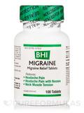 BHI Migraine Relief Tablets - 100 Tablets
