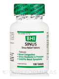 BHI Sinus Relief Tablets - 100 Tablets