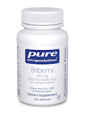 Bilberry 160 mg - 120 Capsules