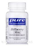 Bilberry 80 mg 120 Capsules