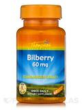 Bilberry 60 mg (Standardized Extract) 60 Vegetarian Capsules
