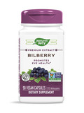 Bilberry Standardized 90 Capsules