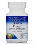 Bilberry Vision 100 mg - 30 Tablets