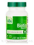Biotin 10,000 mcg - 100 VegeCaps