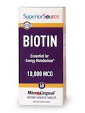 Biotin 10,000 mcg - 60 MicroLingual® Tablets