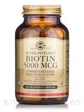 Biotin 5000 mcg - 100 Vegetable Capsules