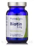 Biotin 5 mg 60 Vegetarian Capsules