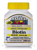 Biotin 800 mcg (Maximum Strength) - 110 Tablets