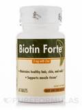 Biotin Forte 3 mg with Zinc - 60 Tablets