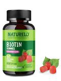 Biotin Gummies, Strawberry Flavor - 60 Vegetarian Gummies