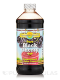 Certified Organic Black Cherry Juice Concentrate (Unsweetened) - 16 fl. oz (473 ml)