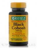 Black Cohosh 540 mg 100 Capsules