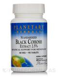 Black Cohosh Extract 2.5% 80 mg 90 Tablets
