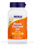 Black Currant Oil 500 mg 100 Softgels