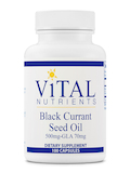 Black Currant Seed Oil 535 mg - GLA 70 mg - 100 Capsules