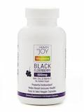 Black Elderberry 500 mg (with Zinc & Vitamin C) - 60 Veggie Capsules