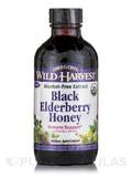 Black Elderberry Honey, Alcohol-Free Extract - 4 fl. oz (118 ml)